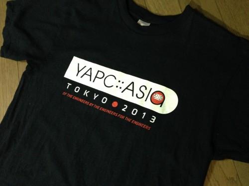 YAPC::Asia Tシャツ