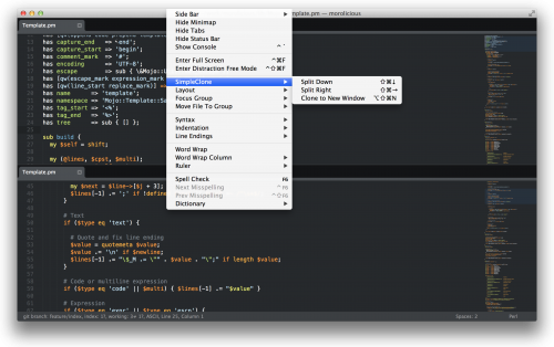 SublimeText - Simple Clone Plugin