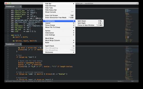 SublimeText - Simple Clone Plugin